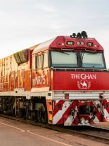 The Ghan and Golden Princess