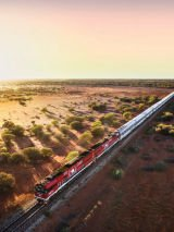 Red Centre Spectacular 2022 on The Ghan