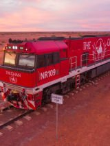 Taste of the Top on The Ghan